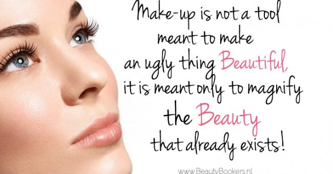 Make-Up is meant to magnify