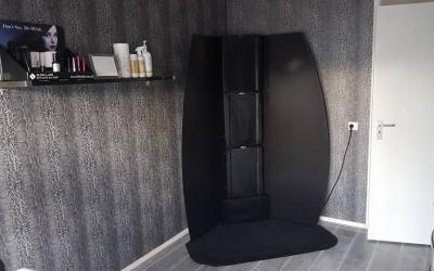 Spray tan afzuigunit-cabine