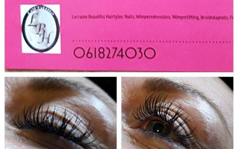 nieuwe set One by One wimperextensions