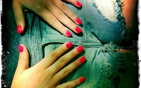 how to fix discolored shellac nails
